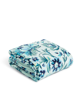 23653 Plush Throw Blanket Cloud Vine