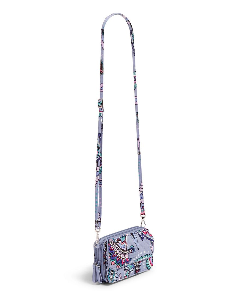 Iconic RFID All in One Crossbody Makani Paisley