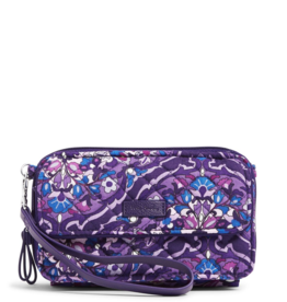VERA BRADLEY Iconic RFID All in One Crossbody Regal Rosette