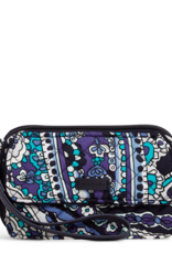 22887 Iconic RFID All in One Crossbody Deep Night Paisley
