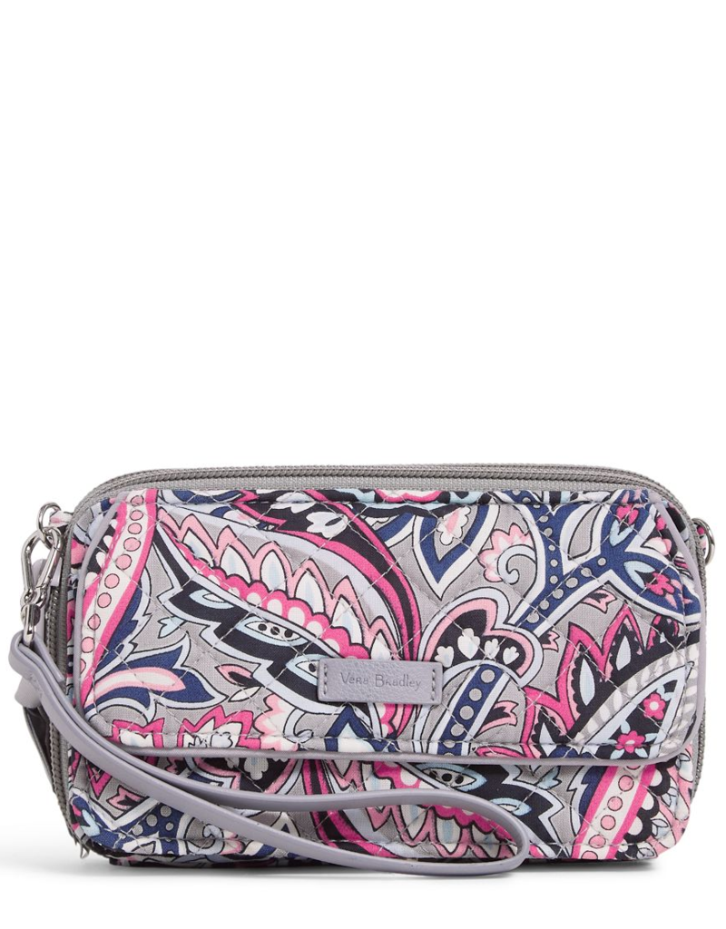 22887 Iconic RFID All in One Crossbody Gramercy Paisley