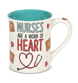 ENESCO NURSE HEART MUG ONIM