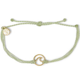 PURA VIDA Gold Wave Bracelet Mint