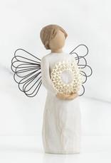 DEMDACO Angel With Heart Wreath Hospitality Figurine