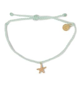 PURA VIDA Enamel Starfish GD/CL Bracelet Winter Fresh
