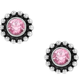 BRIGHTON J2049B TWINKLE ROSE MINI EARRINGS