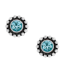 BRIGHTON Twinkle Blue Zircon Earrings