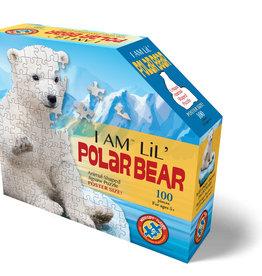 E11EVEN I AM LIL POLAR BEAR - 100pc Shaped  Jigsaw Puzzle