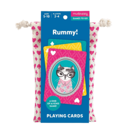 PLAYING CARDS TO GO RUMMY!