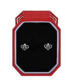 BRIGHTON Alcazar Heart Mini Post Earrings Gift Box