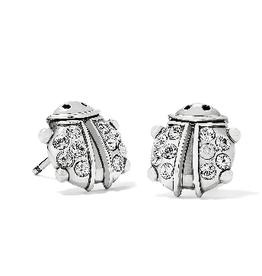 BRIGHTON J22301 Lady Luck Mini Post Earrings Silver