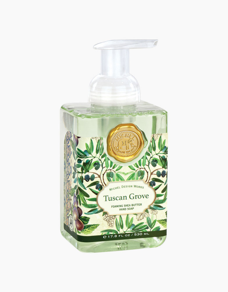 Michel Design Works Foaming Soap Tuscan Grove Heart And Home,Acrylic Nail Designs Natural Colors