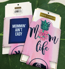 SIMPLY SOUTHERN TEES BEVERAGE HOLDER MOM LIFE SS