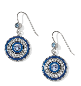 BRIGHTON JA3623 HALO ECLIPSE FRENCH WIRE EARRINGS