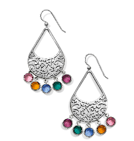 BRIGHTON Elora Gems Drops French Wire Earrings Multi