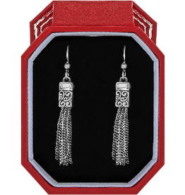 BRIGHTON Baroness Tassel French Wire Earrings Gift Box