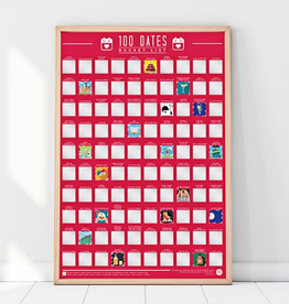 GIFT REPUBLIC LIMITED BUCKET LIST -100  Dates To Go On