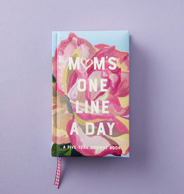 HACHETTE BOOK GROUP Mom's Floral One Line At A Time