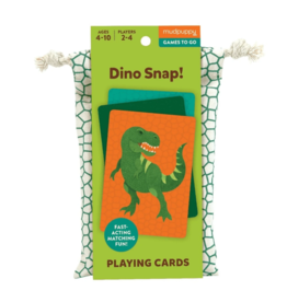 Playing Cards Dino Snap