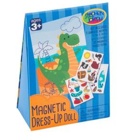 STEPHEN JOSEPH GIFTS Magnetic Dress Up Doll Dino