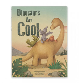 JELLYCAT INC. Book Dinosaurs Are Cool