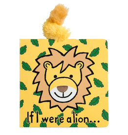 JELLYCAT INC. Book If I Were A Lion