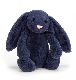 JELLYCAT INC. Bashful Navy Bunny Medium