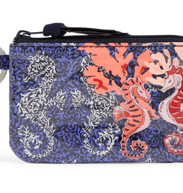 Iconic Zip ID Case Seahorse of Course