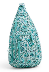VERA BRADLEY Iconic Sling Backpack Cloud Vine