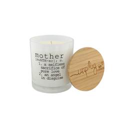UNPLUG SOY CANDLES LLC 11.5oz. Mother Definition Prosecco Fizz Candle