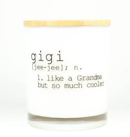 UNPLUG SOY CANDLES LLC 11.5oz. Gigi Sugared Citrus Candle