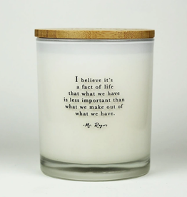 UNPLUG SOY CANDLES LLC 11.5oz. Fact Of Life Sea Salt Candle