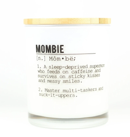 UNPLUG SOY CANDLES LLC 11.5oz. Mombie White Tea Candle 11.5oz.