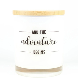 UNPLUG SOY CANDLES LLC 11.5oz. Adventure Begins Sugared Citrus Candle