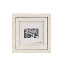 MUDPIE Distressed Frame -Mr. And Mrs.