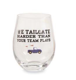 MUDPIE WINE GLASS TRUCK TAILGATE