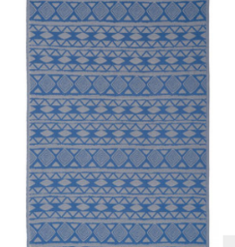 Turkish Beach Towel Tulum Indigo Blue