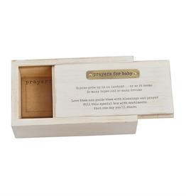 MUDPIE Baby Prayer Box