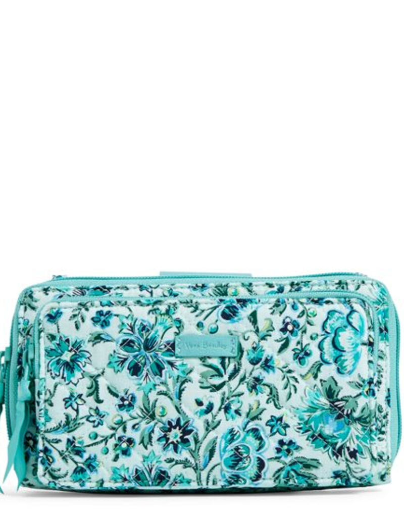 VERA BRADLEY Iconic Deluxe All Together Crossbody Cloud Vine