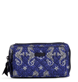 VERA BRADLEY Iconic Deluxe All Together Crossbody Seahorse of Course