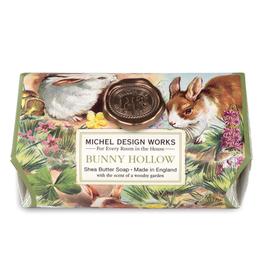 MICHEL DESIGN WORKS BATH BAR SOAP BUNNY HOLLOW 8.7oz.
