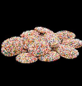 ABDALLAH CANDIES CANDIES Non-Pareils – Milk Chocolate 8 oz. Bag