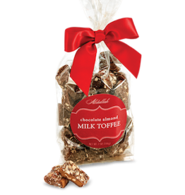 ABDALLAH CANDIES CANDIES Butter Almond Toffee – Milk Chocolate Bag 7 oz.
