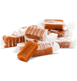 ABDALLAH CANDIES Old Fashioned Butter Chocolate Caramels 7 oz. Bag