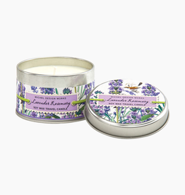 MICHEL DESIGN WORKS 4oz. Lavender Rosemary Travel Candle Tin