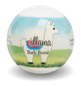 Bath Bomb Llama