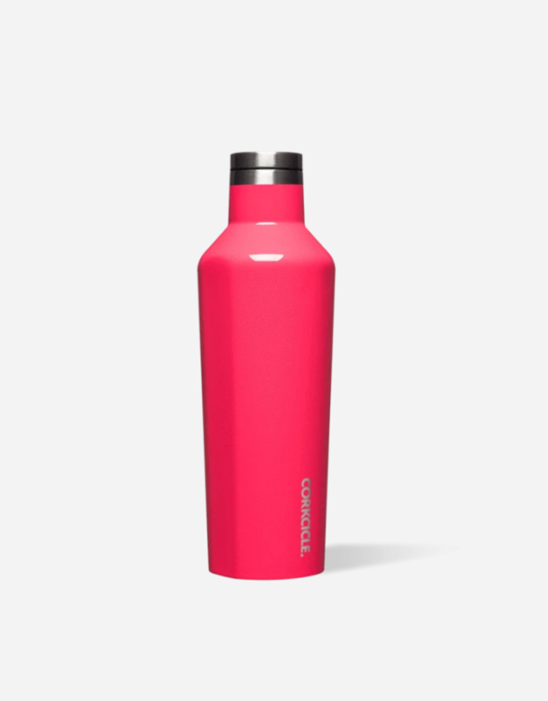 CORKCICLE 16 OZ Canteen Gloss Flamingo
