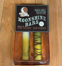 CHOCOLATE MOONSHINE CO LLC MOONSHINE BARS BEACH PARTY CHOCOLATE  2PKG