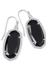 KENDRA SCOTT Kendra Scott Dani Silver Earrings in Black