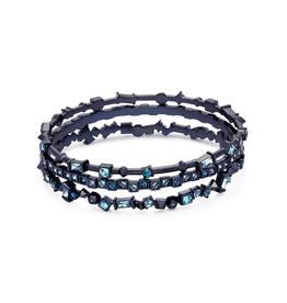 KENDRA SCOTT Malia Bracelet Navy Gunmetal Indigo Mix
